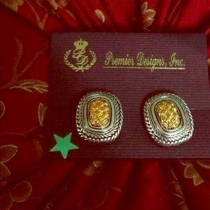Premier design earrings clip on